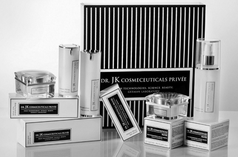 die pflegeprodukte von dr jk cosmeceuticals priv e. Black Bedroom Furniture Sets. Home Design Ideas