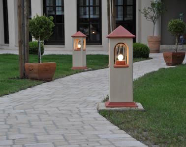 leuchte outdoor garten beleuchtung denk