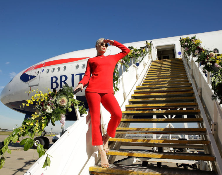 SYDNEY, AUSTRALIA - JUNE 30:  Singer Jessie J poses on a British Airways 777-300 on June 30, 2016 in Sydney, Australia.The singer-songwriter played an acoustic set for VIPs and competition winners to celebrate the arrival of summer in the UK.  (Photo by Mark Metcalfe/Getty Images for British Airways) *** Local Caption *** Jessie J