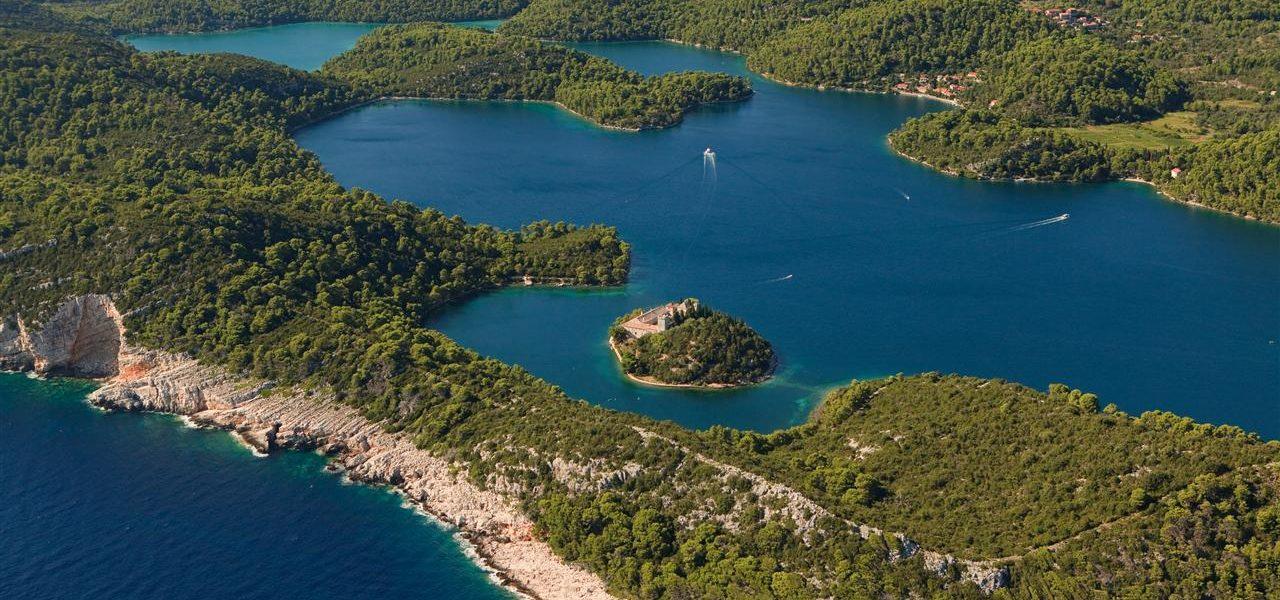 Veliko Jezero Nationalpark Mljet