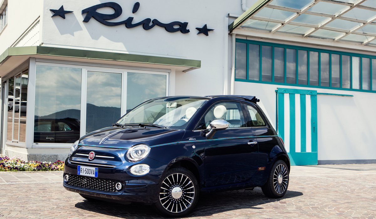 der neue fiat 500 riva ist die kleinste yacht der welt proud magazine. Black Bedroom Furniture Sets. Home Design Ideas