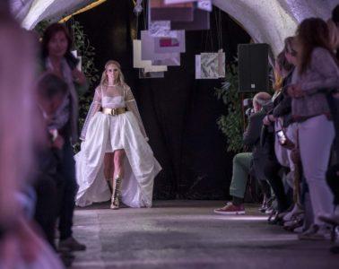 Rebekka Ruetz Fashion Show At 'Kulinarik & Kunst Festival' on August 20, 2016 in St. Anton am Arlberg, Austria. Credit: Getty Images