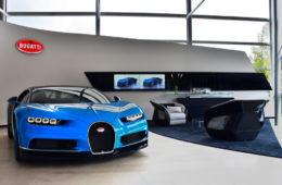 bugatti chiron veyron verkauf händler schweiz schmohl ag showroom sportwagen luxusmarke