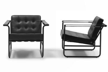 """Der Sessel HE-113 von Hans Eichenberger in der  limitierten Jubiläumsversion """"Black Edition"""""""
