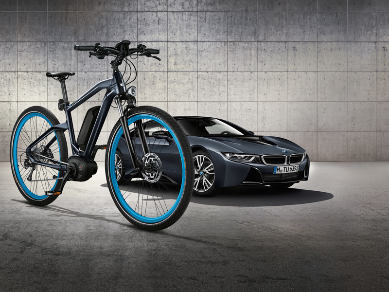 bmw e-bike elektrobike fahrrad bikes e-bikes modelle limitiert hybrid