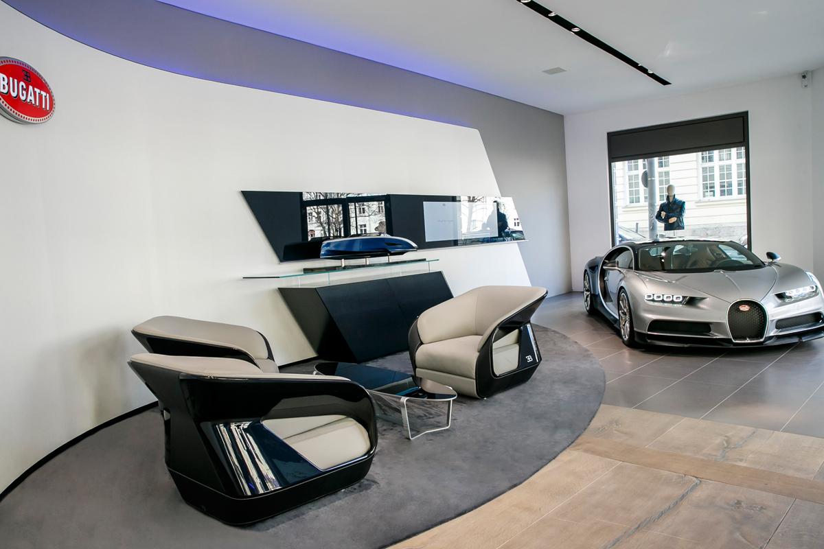 bugatti deutschland münchen frankfurt showroom händler verkauf