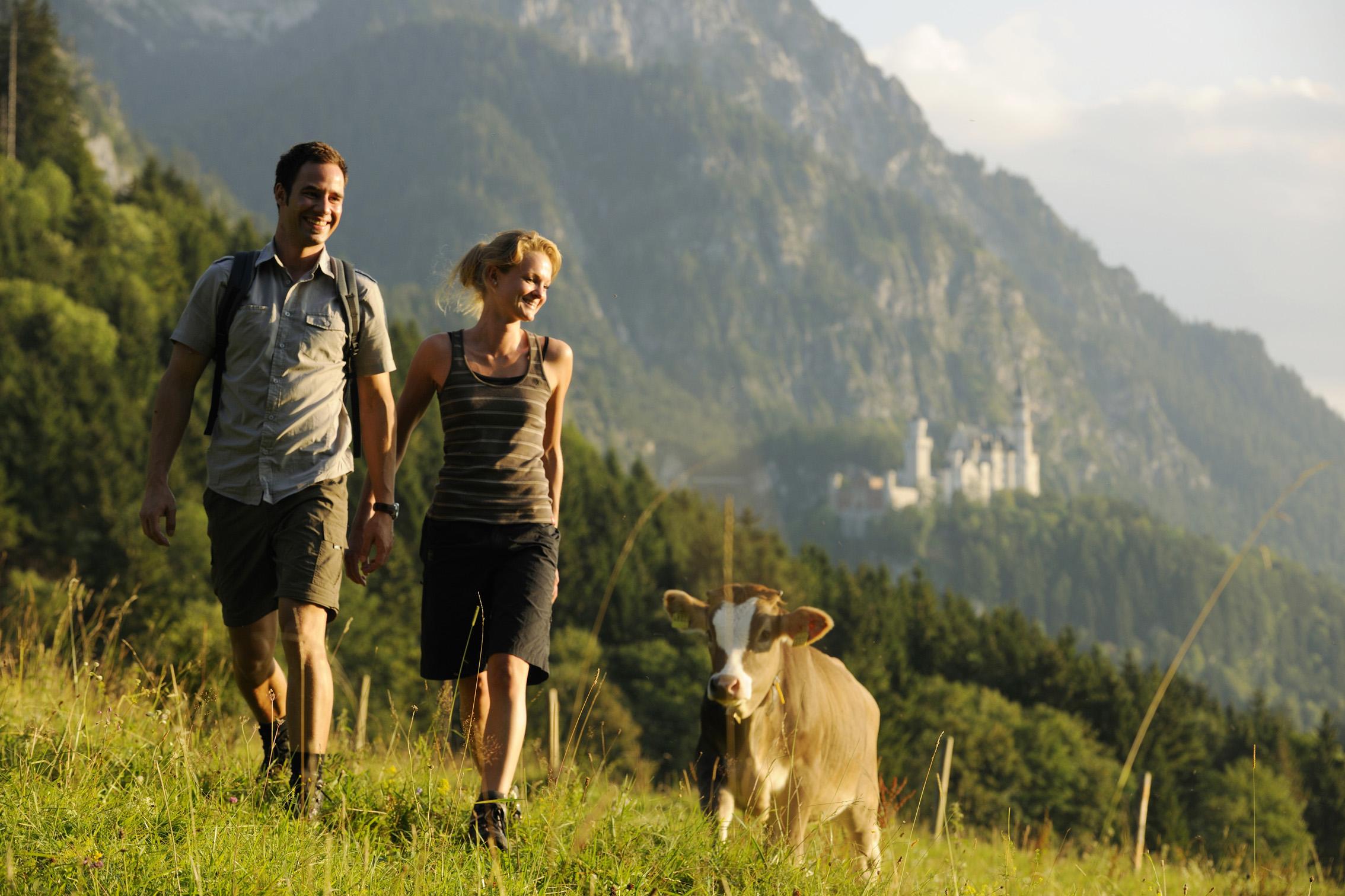 wandern wanderwege alpen urlaub ferien entspannung