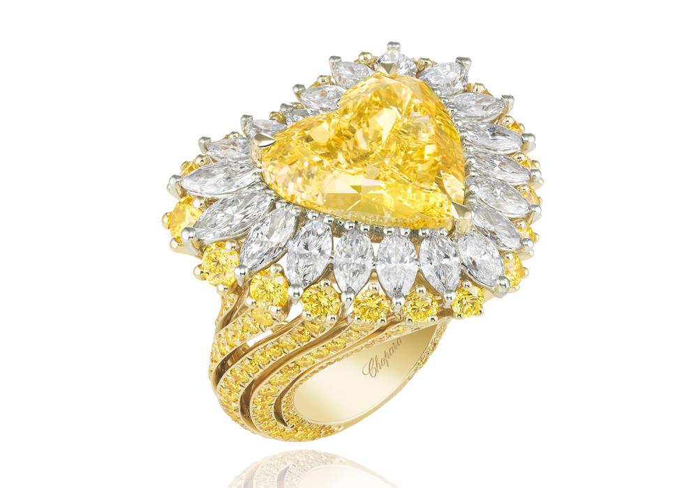 chopard schmuck schmuckkollektion schmuck-kreationen ring brillanten edelsteine