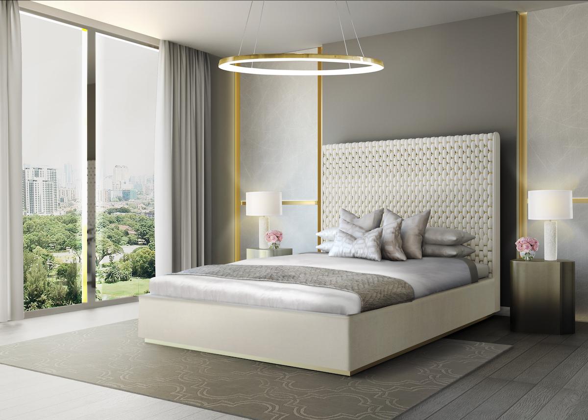 memoir bedrooms beds luxury table furniture noble materials interior design