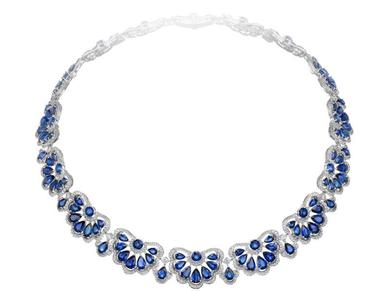 chopard jewellery necklaces pendants sapphires diamonds